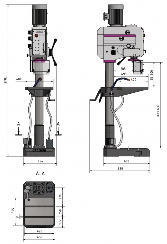 OPTIdrill DH 55G