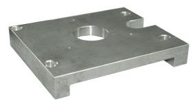 Adapterplatte für Optimill BF 46Vario