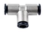 Push-in-Stecker 3 x 8 mm, T-Stück, 16 bar