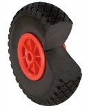 PU foam wheel 260 x 20 mm, non-stressing