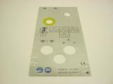 Hinweisschild Pos. 6 D240 x 500 G / D240 x 500 Vario